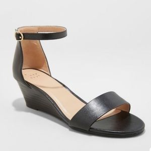 a new day Wilda Ankle Strap Wedge Sandal